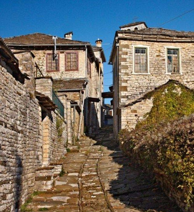 The ancient stone paths were the only way to navigate between the 46 villages scattered among the rolling hills