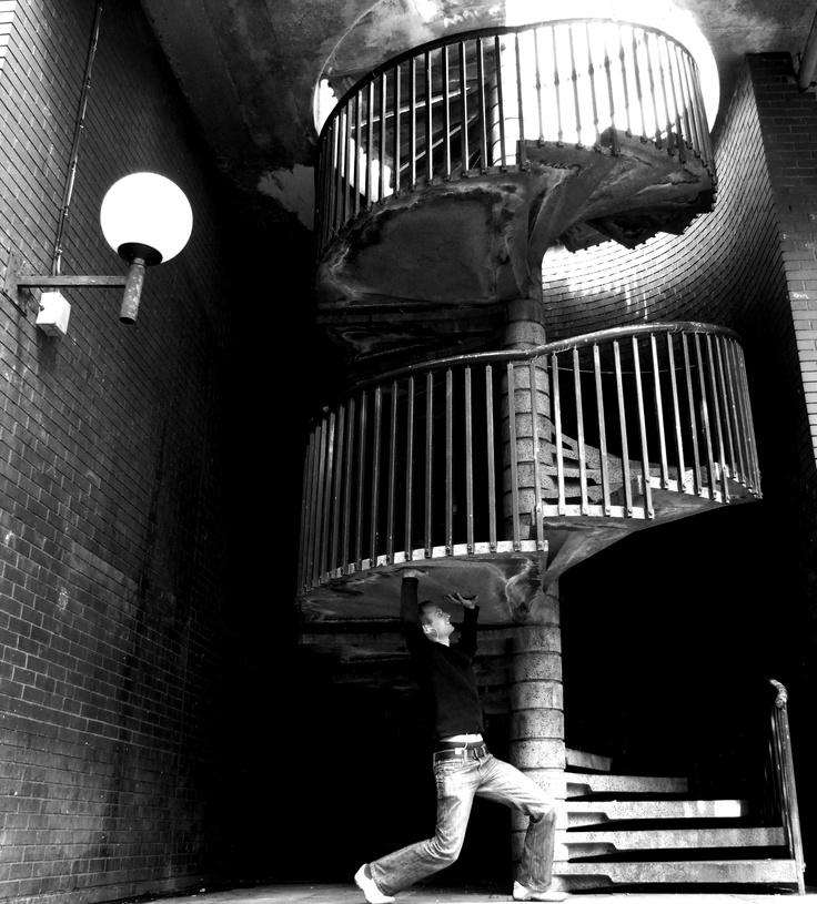 Stairs Birmingham city centre