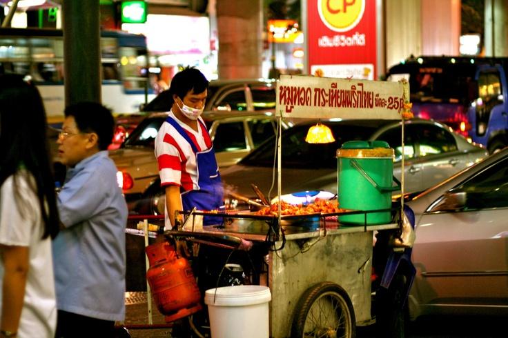 Great street food in Bangkok ...