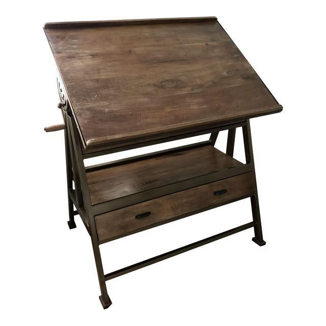 Antique Drafting Table $800 YIKES, but could be table and desk and just plain beautiful