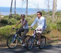 Pistes cyclables à Saint Palais sur Mer