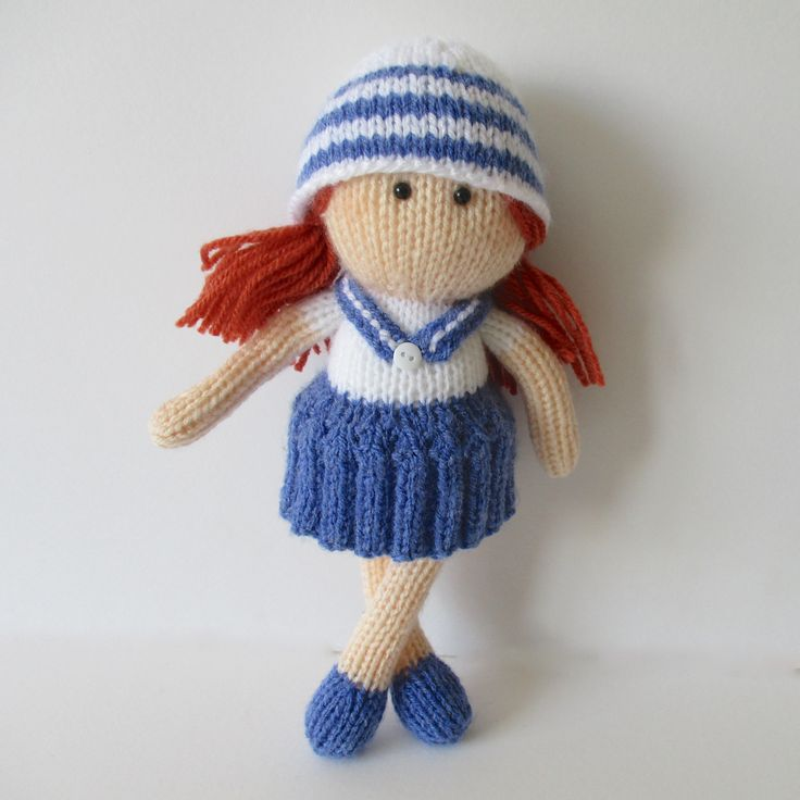Knitting Pattern For Sailor Doll : 26 best images about Sailors on Pinterest Free pattern ...