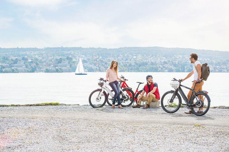 Urban Biking: Zürich - Stadtgespräch - Eine Stadt steigt um -  Velofahren ist en vogue. Es ist gut für Körper und Geist, umweltfreundlich und – in der Stadt – oft die schnellste Art der Fortbewegung. Und es hat Zukunft. Mit der Verdichtung der Ballungszentren steigt die Notwendigkeit sanfter Mobilität.
