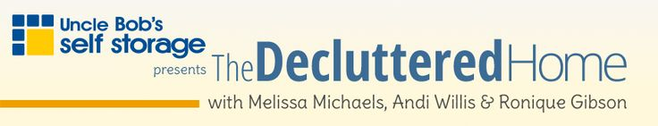 The Decluttered Home - Ronique Gibson - Stagetecture Writing Services  http://stagetecture.com/about-ronique/writing-portfolio/