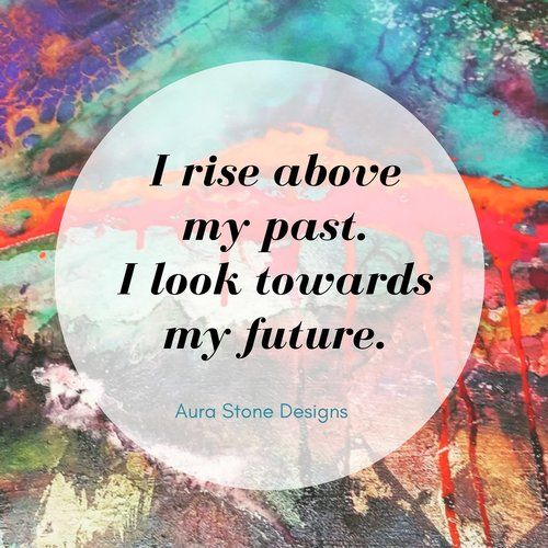 Affirmation: I rise above my past. I look toward my future.   All Aura bracelets come with affirmations matched to the intent and metaphysical properties of the natural stones.