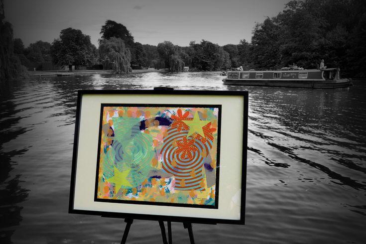 Bowel Cancer Fundraising: Limited Edition Art Silk Screen Prints