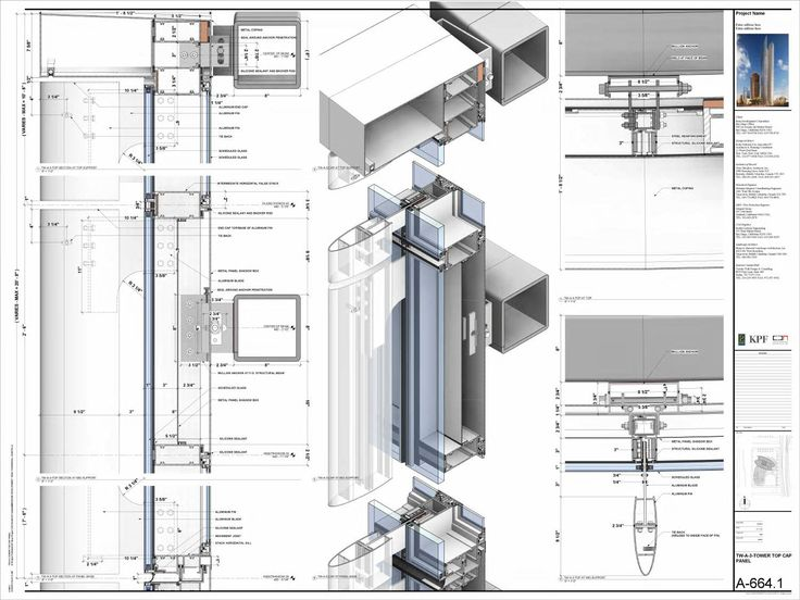 Nathaniel richards revit sample. Revit ArchitectureArchitecture DetailsCurtain  ...