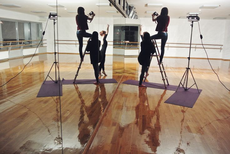 shooting a short dance film