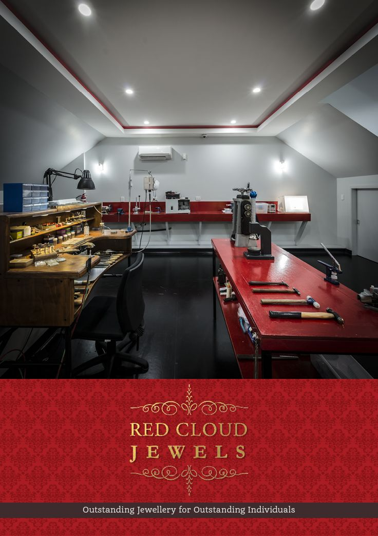Ever wondered where all our magic happens? Here is what our workshop looks like. (It is located on the second floor of our atelier in Agnes Water.) It was purposely designed and built to improve our workflow, because we believe that great work environment positively effects our creativity and our ability to produce masterpieces... | Outstanding Jewellery for Outstanding Individuals | www.redcloudjewels.com.au