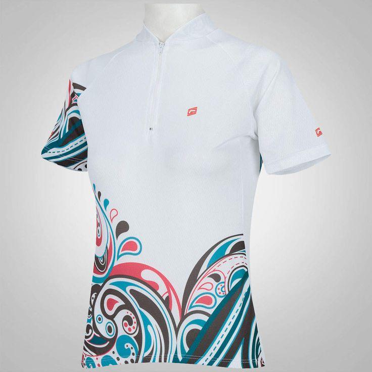 Camisa de Ciclismo Barbedo Floral 2015 – Feminina