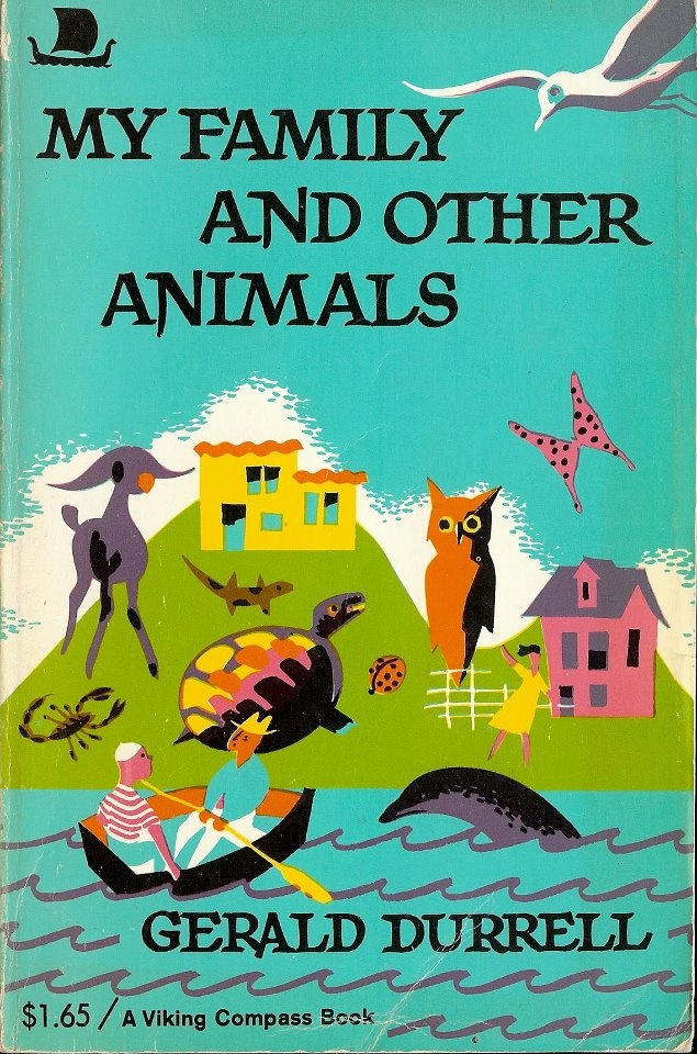 When the unconventional Durell family can no longer endure the damp,grey English climate,they do what any sensible family would do....they sell their house, and relocate to the sunny Greek Island of Corfu.    A humorous and amazingly wonderful autobiographical book by Naturalist Gerald Durell.