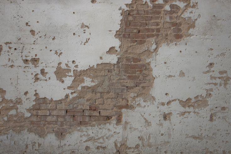 Fireplace Refinish Plaster Over Brick Rustic Modern