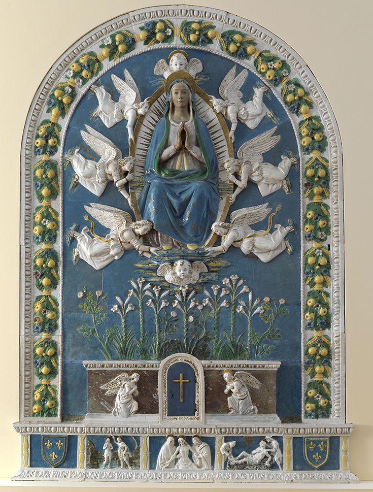 Bottega di Benedetto Buglioni - Assunzione della Vergine - Museo Giuliano Ghelli di San Casciano Val di Pesa