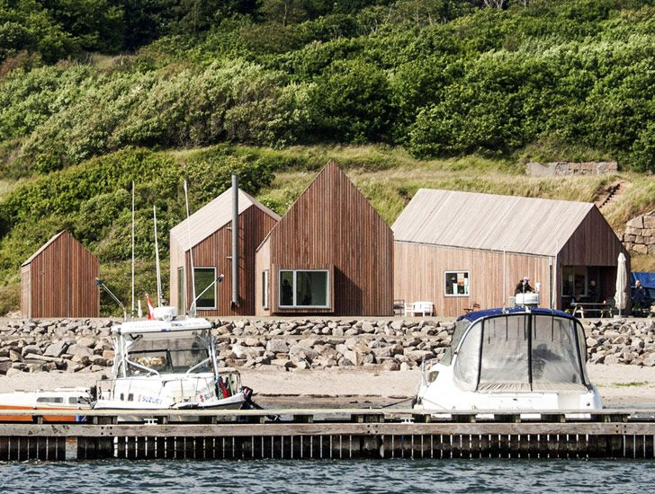 Cubo's Geometric Wooden Hammerhavn Houses Reflect Danish Port's History | Inhabitat - Sustainable Design Innovation, Eco Architecture, Green Building