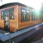 Teak House Barge for Sale