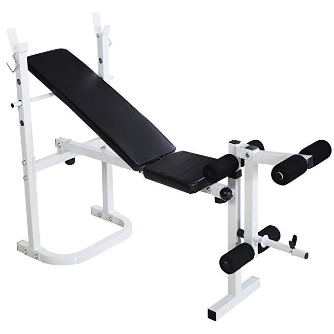 Bonnlo Adjustable Weight Bench Multi Function Workout Bench With Leg Extension And Leg Curl Folding Incl Weight Benches Adjustable Weight Bench Bench Workout