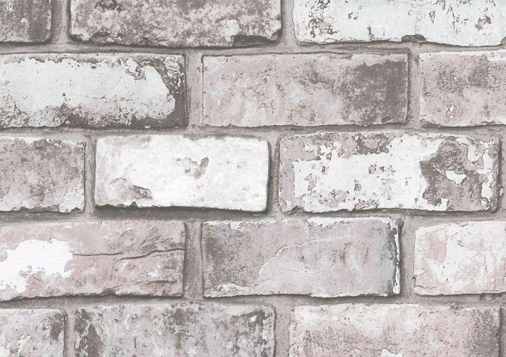 Fräck och naturtrogen tegeltapet från kollektionen Level 50-158. Klicka för att se fler tuffa tapeter för ditt hem!