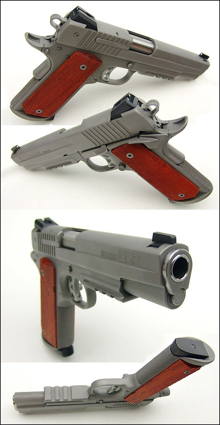 1911 Sig Sauer 45 Caliber GSR. Learn more about finding how to pick a CCW #SwatExchange www.SwatExchange.com