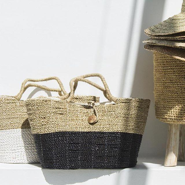 STYLE | Bali Holiday Basket | Bali Holiday Hat | Rafia Foot Stool | Kim Soo today #kimsoo #kimsoohome #kimsoobali