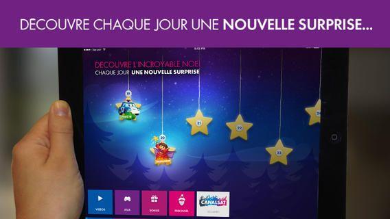 Jour4 - Une nouvelle appli gratuite Canalsat Noël pour découvrir tous les jours un épisode de dessin animé (Dora l'Exploratrice, Mickey, les créatures de Gumball, ou Bob l'Eponge !)