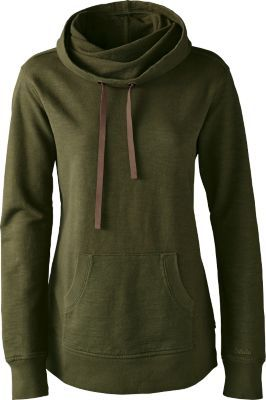 Our Women's Classic Knit Hoodie goes from relaxing nights on the sofa to cool evenings roasting marshmallows at the campsite. Features a slouchy tube hood and roomy kangaroo pocket.