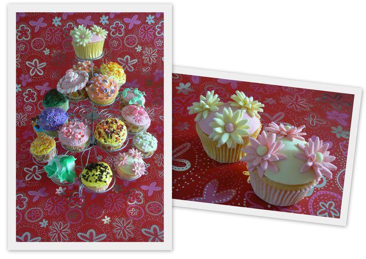 Feestelijk cupcakes.
