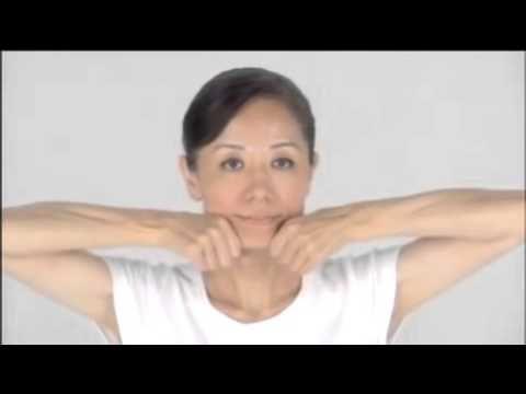 омоложение лица после 50 лет 2014 омоложение лица японский массаж - YouTube