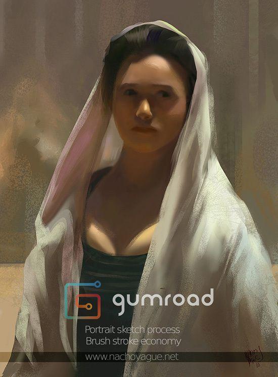 #gumroad #digital #painting #tutorial