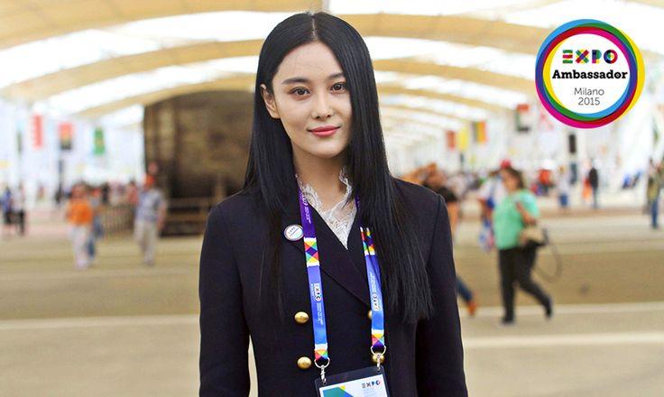 Ambassador Expo Milano 2015 Viann Zhang #Expo2015 #Milan