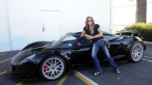 Vocalista do Aerosmith leiloa carro de 1.216 cv | Autor: Divulgação - Fornecido por Motorpress