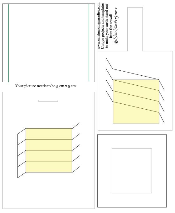 100 best Interactives cards images on Pinterest Cards, Folded - library card template