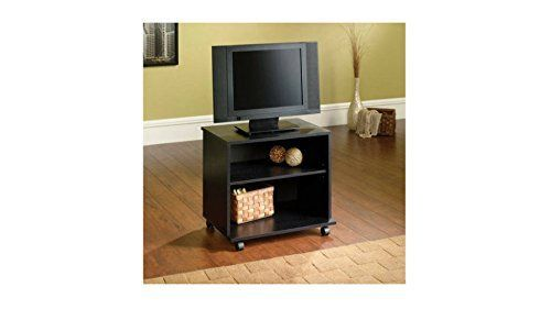 "The Mainstays TV Cart is compact enough to allow you to keep your television anywhere you want it. This TV cart holds flat screen TVs up to 26"" and has casters that make it easy to move your television from room to room. It has an adjustable shelf for your media components. This rolling TV... more details available at https://furniture.bestselleroutlets.com/accent-furniture/telephone-tables/product-review-for-mainstays-tv-cart-night-standtelephone-table/"