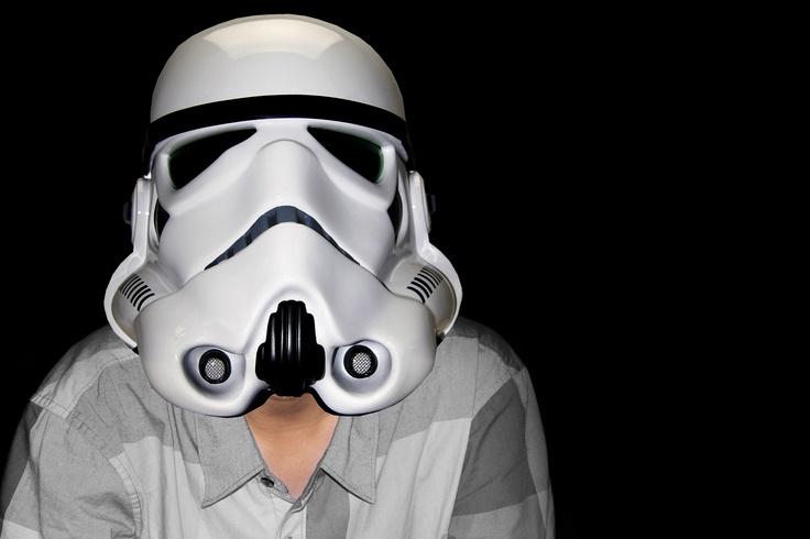 i'm stormtrooper haha