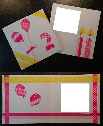 verjaardagskaart kind meisje
