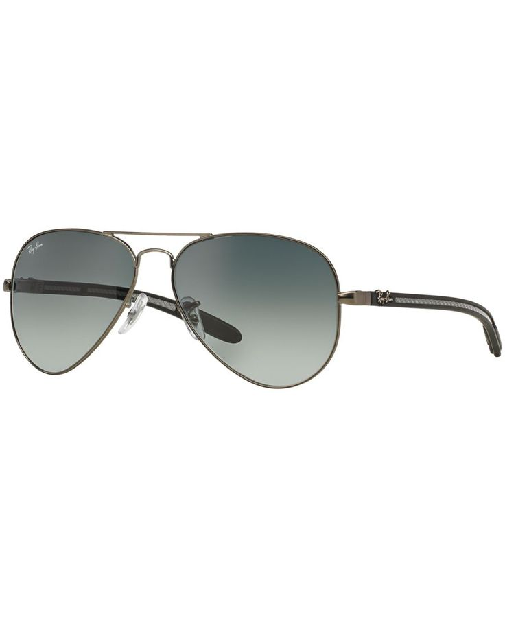 ray ban mens rb8305 carbon fibre sunglasses  ray ban sunglasses, rb8307 58 aviator carbon fibre