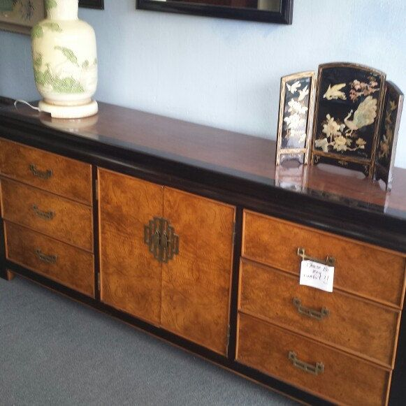 Chin Hau Dresser, Chinoiserie Credenza, For Safe In Our Online Etsy Shop.  Nationwide