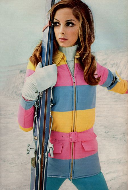 Colsenet from Breakaway at Simpsons 1968. Vintage ski style.