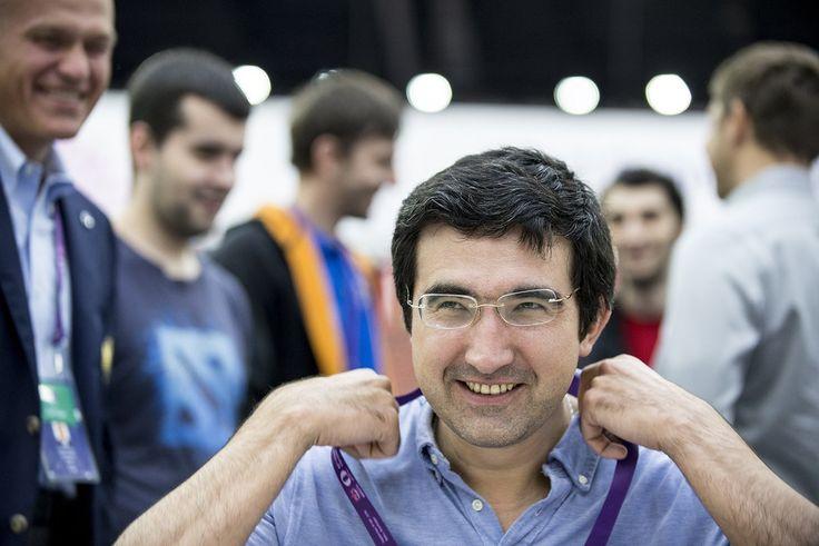Baku Chess Olympiad в Твиттере: «Vladimir Kramnik (Russia) Photo: @davidllada…