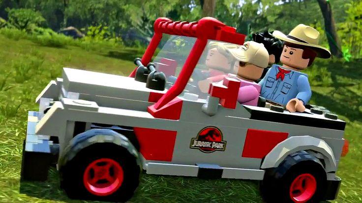 Jurassic World Lego.Игры Мультики про Динозавров.Парк Юрского Периода.#Лего