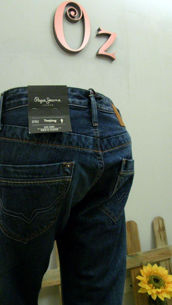 Pantalón hombre vaquero regular fit de Pepe Jeans -Nuevo y Original-  Estamos de Rebajas comprueba los precios finales en www.ozoutlet.es/ebay
