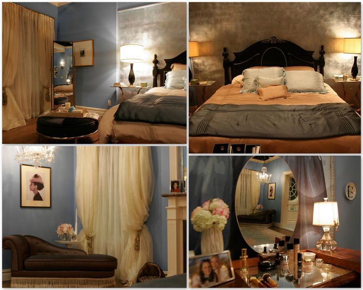 12 best tv characters 39 bedrooms images on pinterest fall for Blair waldorf bedroom ideas