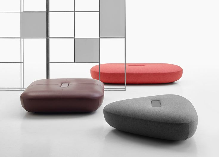 Tabour Footstools By Doshi Levien