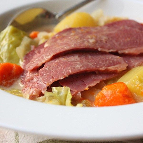 """Coconut Milk Corned Beef and Cabbage 