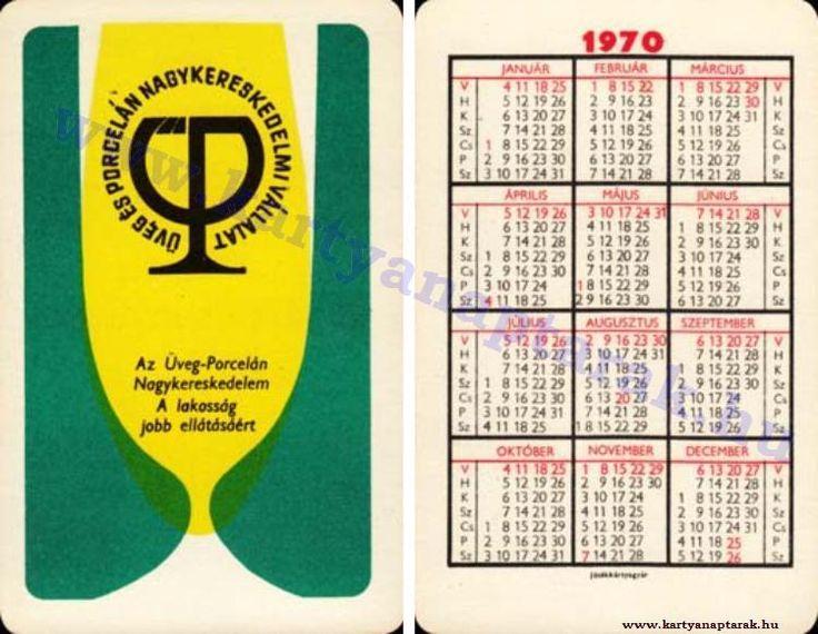 1970 - 1970_0449 - Régi magyar kártyanaptárak
