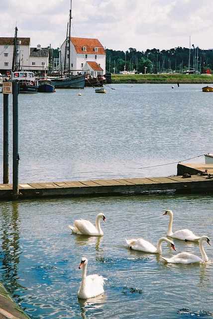 Woodbridge, Suffolk, England. I lived here in 1982-1985 and I would love to go back someday!