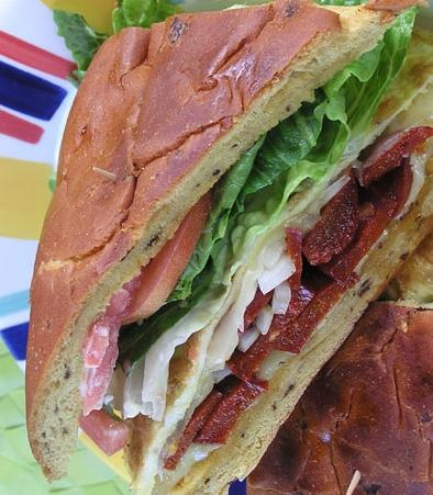 Chorizo and Omelet Sandwich | Favorite Recipes | Pinterest