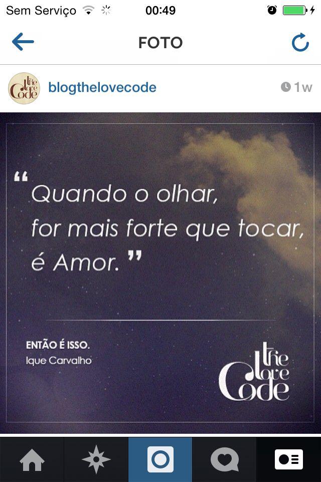 Por Ique Carvalho #thelovecode