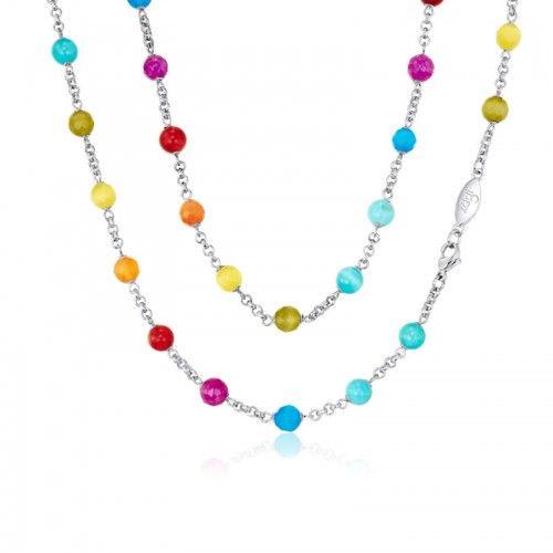 KAGI Colour Me Chain Necklace 95cm
