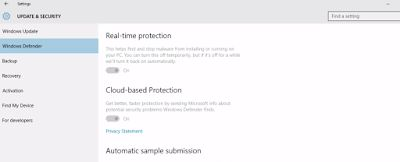 Fingers crossed but I'm hoping you'll love this: Windows 10 : How to enable windows Defender  auto startup protection for... http://computerplusinternettips.blogspot.com/2016/03/windows-10-how-to-enable-windows.html