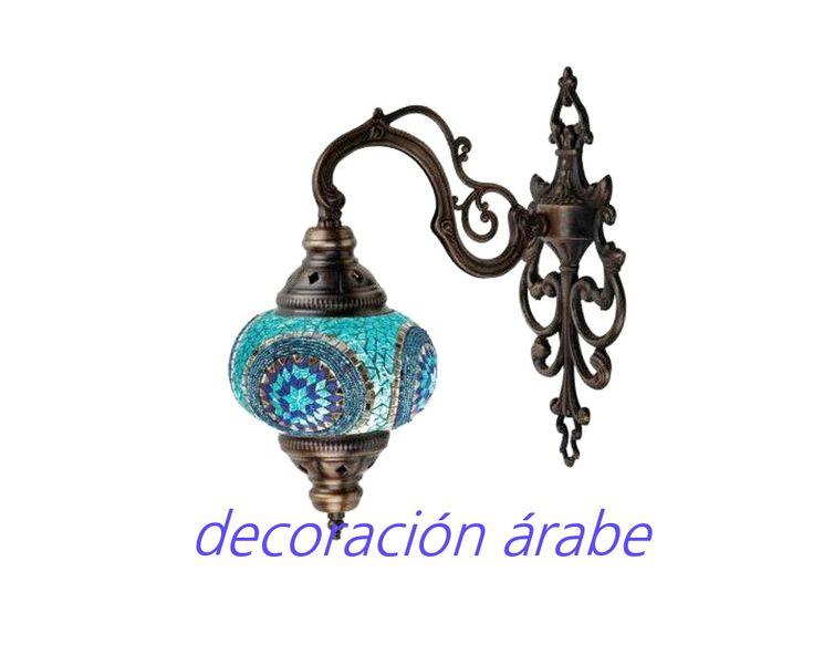 Las 25 mejores ideas sobre decoraci n rabe en pinterest l mpara marroqu decoraci n - Apliques arabes ...